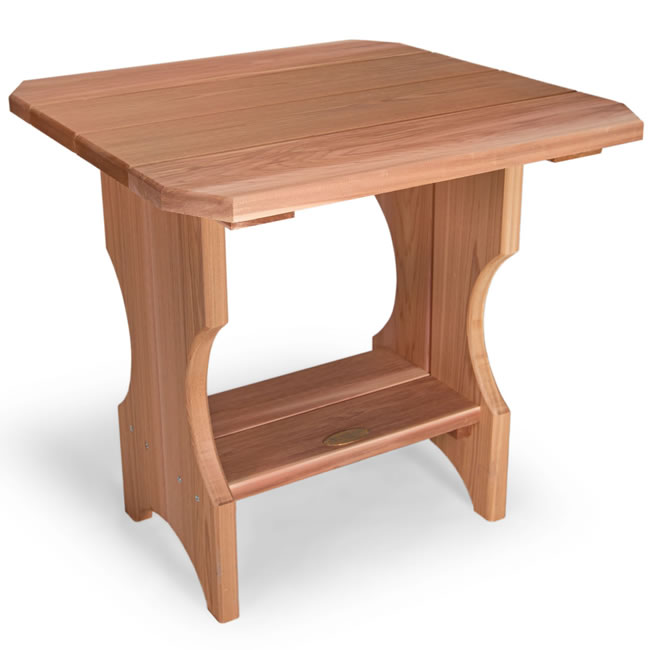 Adirondack Magazine Table