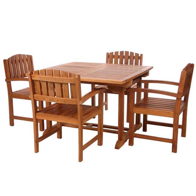 Five Piece Butterfly Dining Chair Set