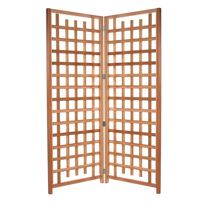 Two Piece Trellis Screen Set