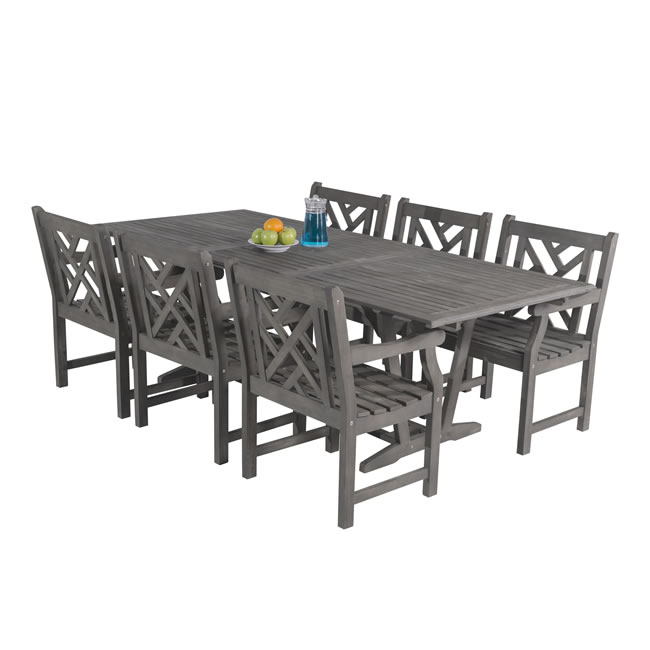 Acacia Chair and Table Sets